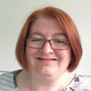 Photo of Siobhan Toner, female person centred counsellor who works with clients online